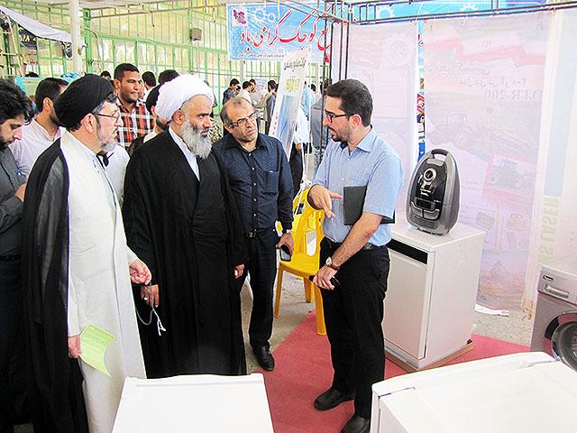 بازدید از نمایشگاه تولید صنایع کوچک – دزفول