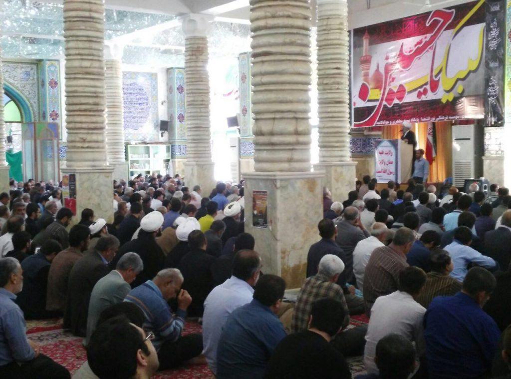 حضور در جمع مومنین شهرستان بهبهان و سخنرانی در نماز جمعه