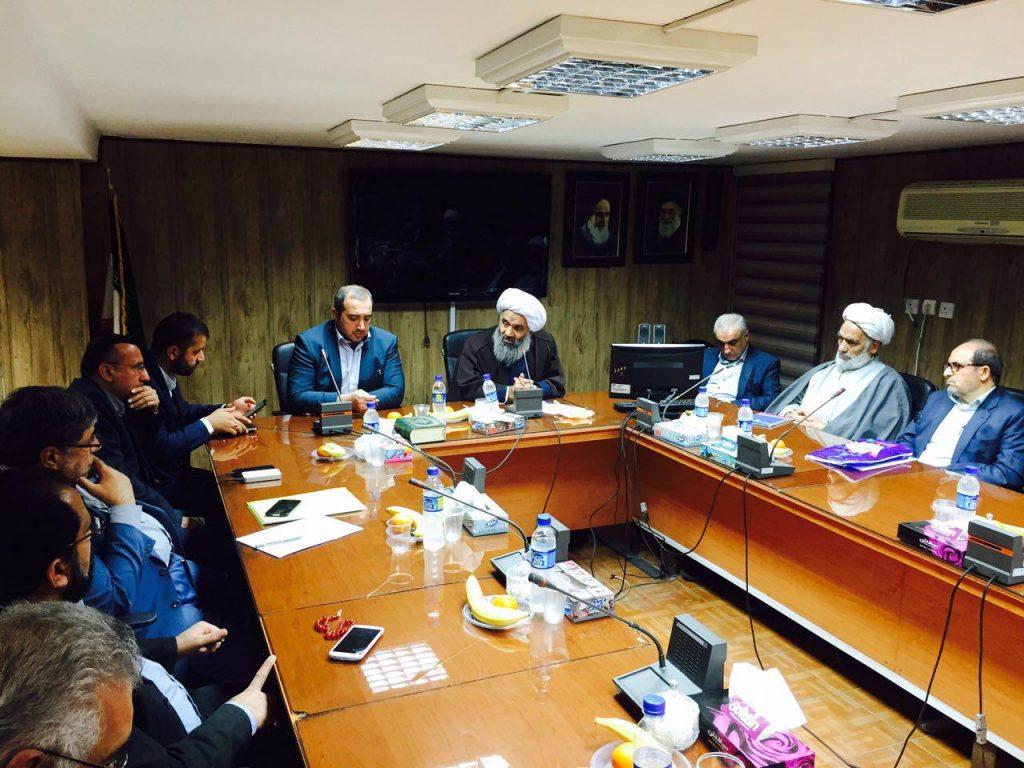 جلسه کارگروه های تخصصی دفتر آیت الله فرحانی-دانشگاه علوم پزشکی اهواز