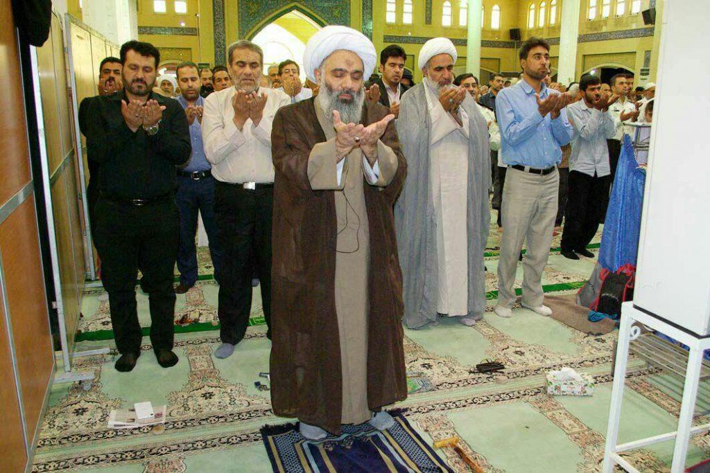 مراسم جزءخوانی ماه رمضان و بزرگداشت آیت الله دهدشتی- آبادان