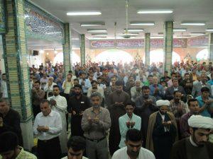 برگزاری نماز باشکوه عید فطر و مراسم معایده- اهواز
